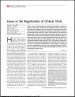 Issues in the Registration of Clinical Trials